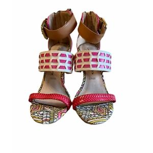 Chinese Laundry Patterned Heels